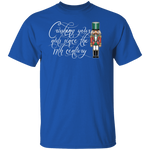 Crushing Your Nuts Since the 17th Century Funny Nut Cracker Ugly Christmas T-Shirt