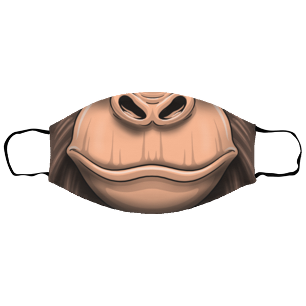 Small Gorilla Primate Mouth Face Mask