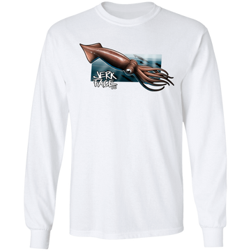 Giant Squid Saltwater Long Sleeve T-Shirt