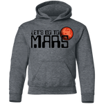 Youth Space Lets Go to Mars Pullover Hoodie
