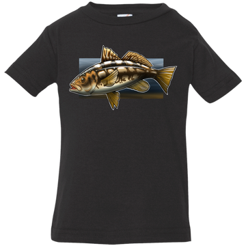 Infant Calico Bass Kelp Bass Saltwater Jersey T-Shirt