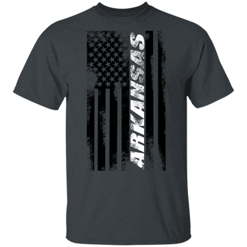 Arkansas American Flag T-Shirt
