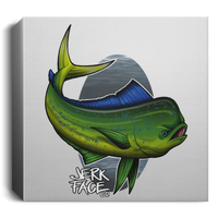 Dorado Mahi-Mahi Fish Saltwater Deluxe Square Canvas 1.5in Frame