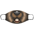 Small Beaver Face Mask