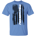 Philadelphia Pennsylvania American Flag T-Shirt