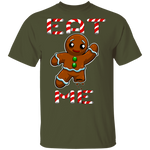 Eat Me Funny Gingerbread Man Ugly Christmas T-Shirt