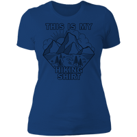 Women's This Is My Hiking Shirt Nature Camping T-Shirt