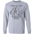 This Is My Camping Shirt Long Sleeve T-Shirt