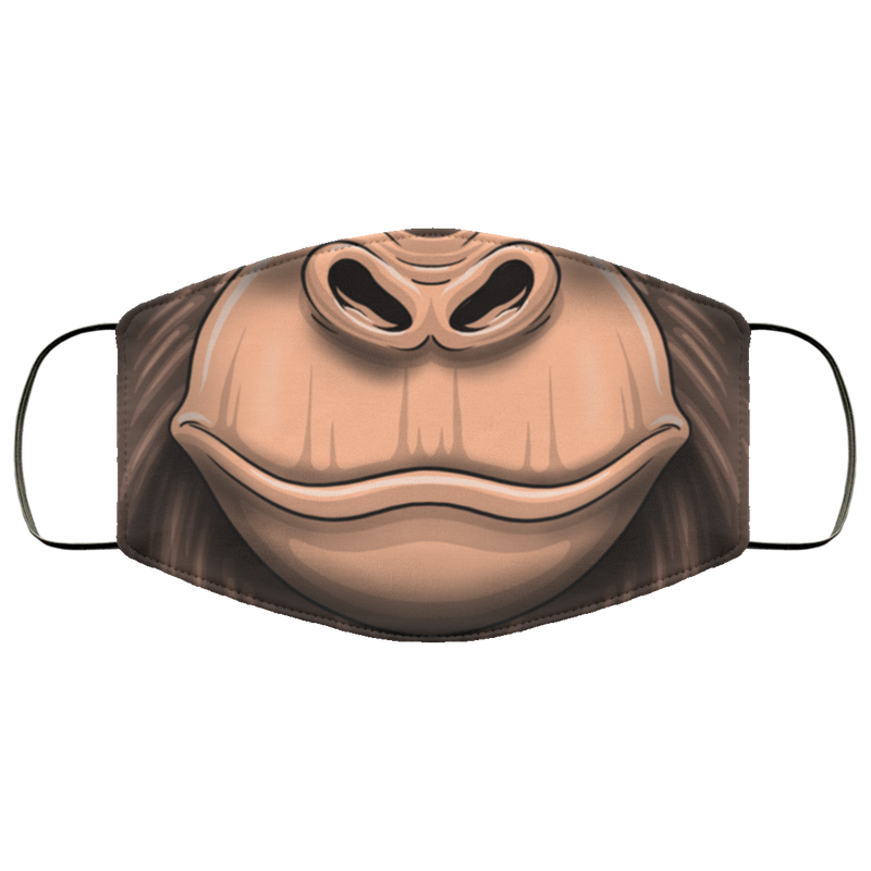 Gorilla Primate Mouth Face Mask