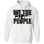 We The People Camouflage Pullover Hoodie