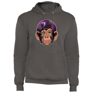 Space Chimp Astronaut Pullover Hoodie