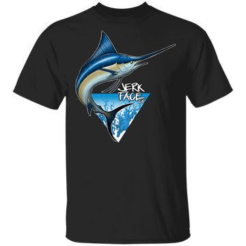 Atlantic Blue Marlin Fish Saltwater T-Shirt