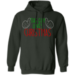 This Guy Loves Christmas Ugly Christmas Pullover Hoodie