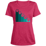 Role Play Dice Nerdy Women's Heather Dri-Fit Moisture-Wicking T-Shirt