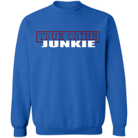 True Crime Junkie Crewneck Sweatshirt