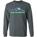 Make Your Own Path Hiking Camping Nature Long Sleeve T-Shirt
