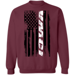 Iowa American Flag Crewneck Sweatshirt