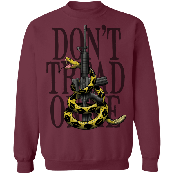 Don't Tread on Me Gadsden Flag Crewneck Sweatshirt