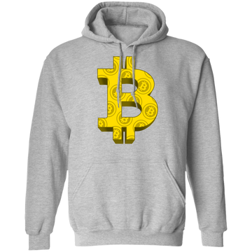 Designer Bitcoin Hodl Cryptocurrency BTC Pullover Hoodie
