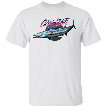 Wahoo Ono Fish On The Line Saltwater T-Shirt