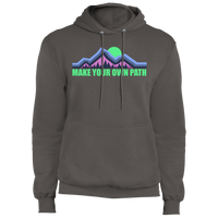 Make Your Own Path Hiking Camping Nature Premium Pullover Hoodie