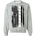 Seattle Washington American Flag Crewneck Sweatshirt