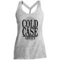 Cold Case Addict Mystery Women's Cosmic Twist Back Tank