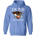 United We Stand Bald Eagle Pullover Hoodie
