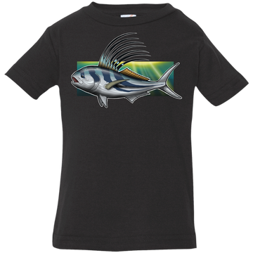 Infant Rooster Saltwater Fish Jersey T-Shirt