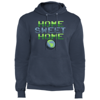 Men's Space Planet Earth Home Sweet  Fleece Pullover Hoodie