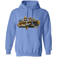 Calico Bass Kelp Bass Saltwater Fish Pullover Hoodie