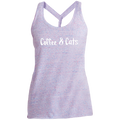 Coffee & Cats Women's Cosmic Twist Back Tank