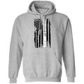 New York New York American Flag Pullover Hoodie