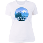 Women's Get Lost in Nature Camping T-Shirt