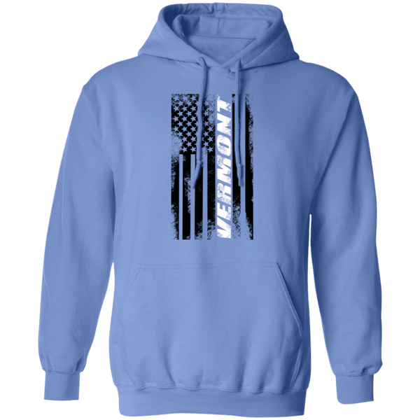 Vermont American Flag Pullover Hoodie