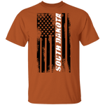 South Dakota American Flag T-Shirt