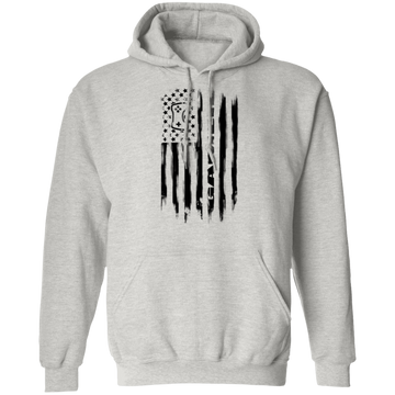 Gamer Video Games Streamer American Flag Pullover Hoodie