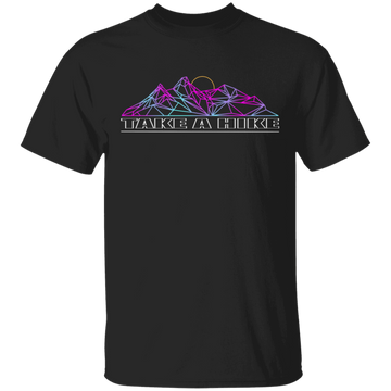 Take a Hike Abstract Camping Nature T-Shirt
