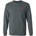 Angler Fish Long Sleeve On The Line Saltwater Double Sided T-Shirt