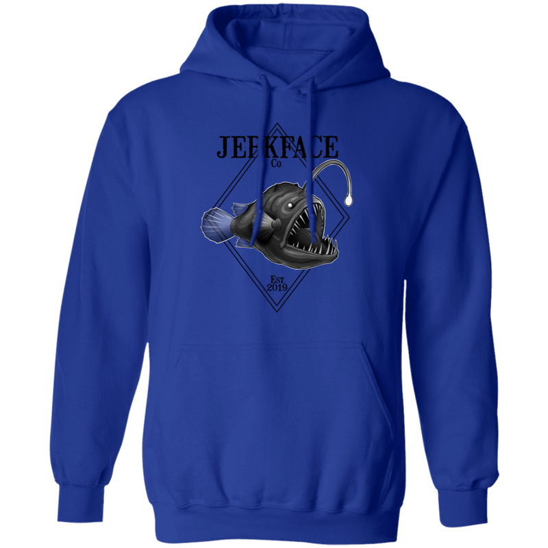 Angler Saltwater Fish Pullover Hoodie