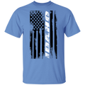 Idaho American Flag T-Shirt