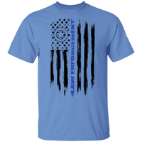 Law Enforcement Deputy Sheriff Police Officer Cop American Flag T-Shirt