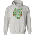 Holiday Calories Don't Count Gingerbread Man Ugly Christmas Pullover Hoodie