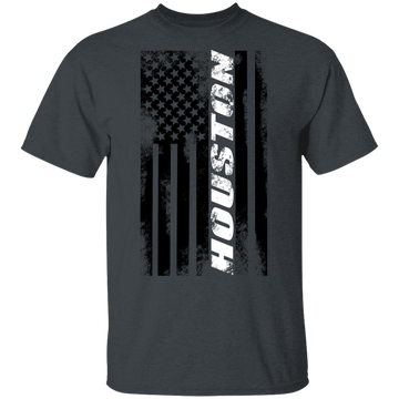 Houston Texas American Flag T-Shirt