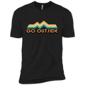 Boys' Go Outside Camping Nature Bright T-Shirt