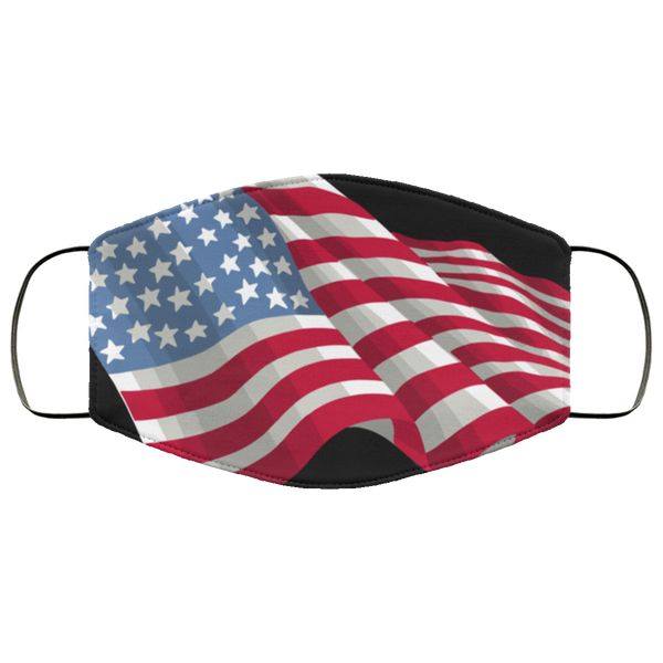 American Flag Patriot Face Mask