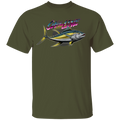 Yellowfin Tuna On The Line Saltwater Fish T-Shirt