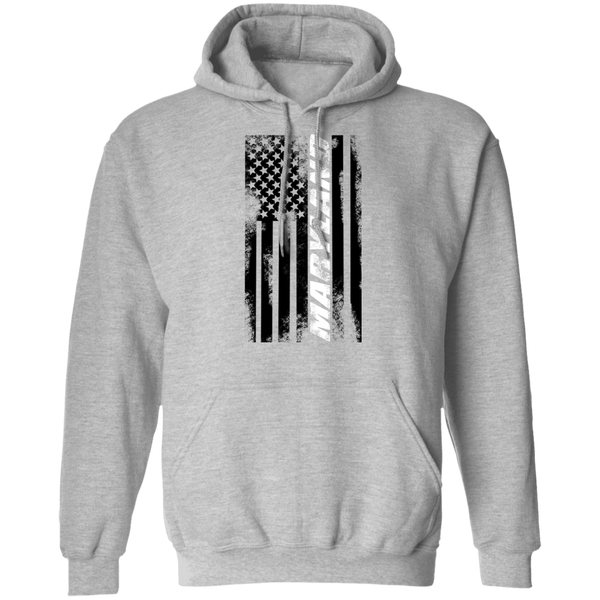 Maryland American Flag Pullover Hoodie
