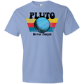 Youth Space Planet Pluto Vintage 80s Lightweight T-Shirt