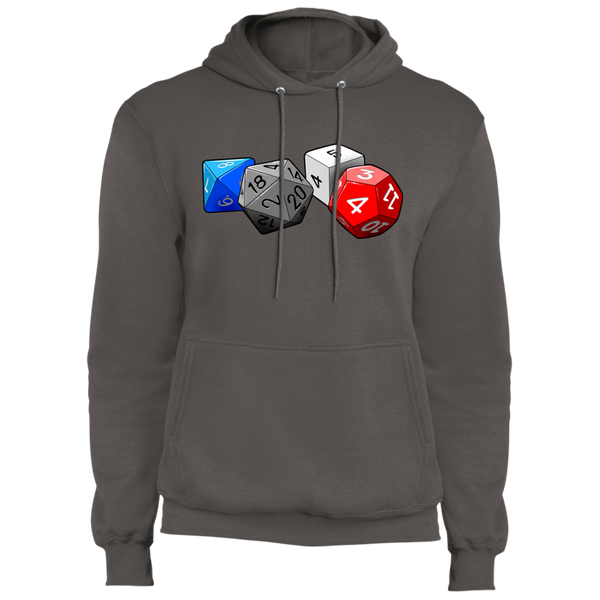 Role Play Dice Fleece Pullover Hoodie